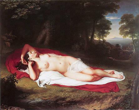 John Vanderlyn - Ariadne Asleep on the Island of Naxos