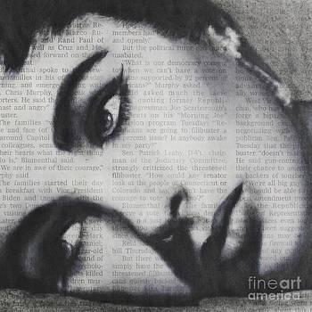 Art in the news 15-Elizabeth by Michael Cross