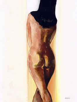 Artist's Stroke III by Jerome Lawrence
