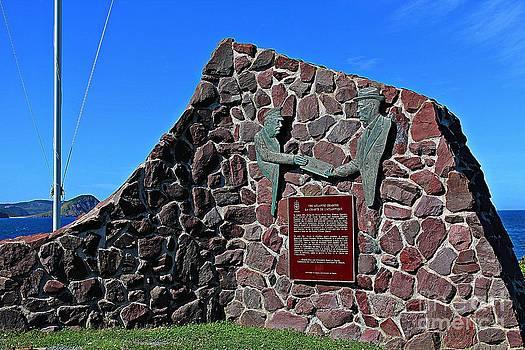 Barbara Griffin - Atlantic Charter Monument