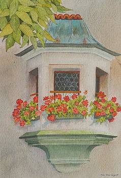 Austrian Window by Mary Ellen Mueller Legault