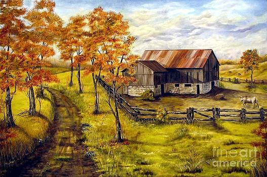 Autumn Shadows by Anna-Maria Dickinson