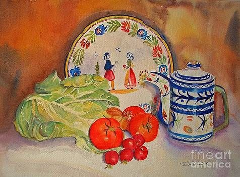 Back from market by Beatrice Cloake