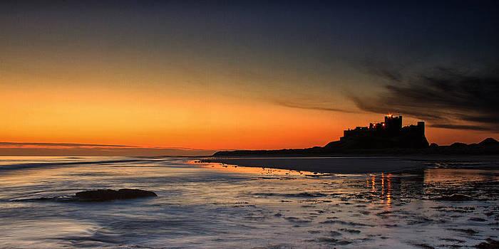 David Pringle - Bamburgh Castle at Sunrise