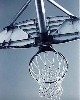Basketball Net by Jennifer Ott
