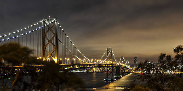 Bay Bridge from Treasure Island by Gej Jones
