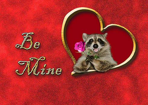 Jeanette K - Be Mine Raccoon