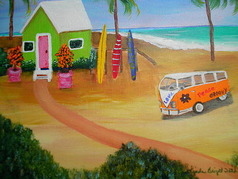 Beach Bums by Linda Bright Toth