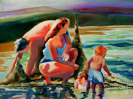 Beach Family by Julianne Felton
