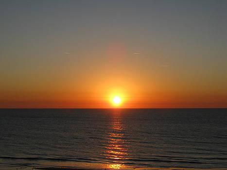 Beach Sunrise by Sarah Manspile