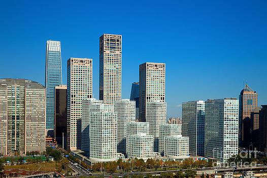 Fototrav Print - Beijing Central Business District China