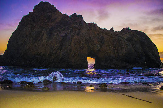 Big Sur Sunset by Brandon McClintock