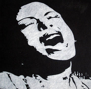 Billie Holiday by Ray Johnson