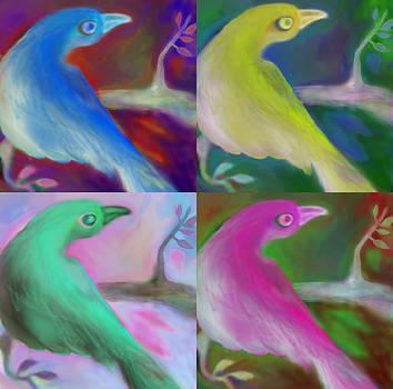 Birds by Moshfegh Rakhsha