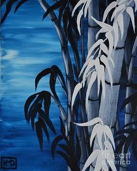 Blue Bamboo by Holly Donohoe