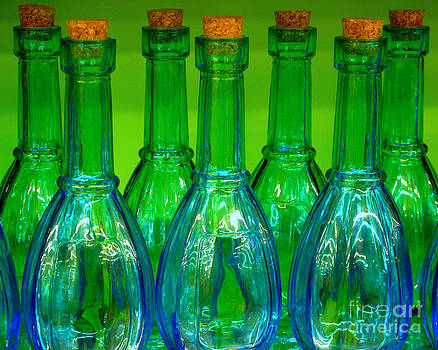 Blue bottles by Ranjini Kandasamy