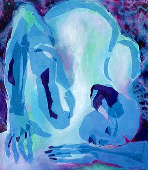 Diane Fine - Blue Nude