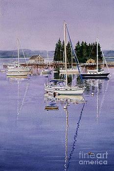 Boothbay Harbor by Karol Wyckoff