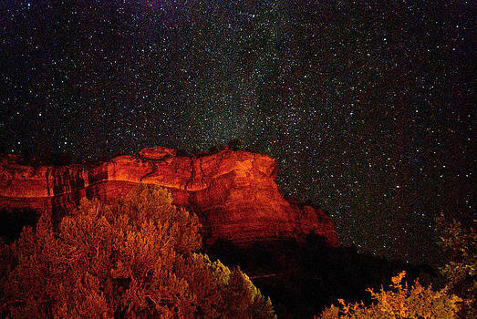 Boynton Canyon Stars by Curtis Jones