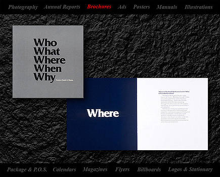 Brochure Design by Gerald Lambert