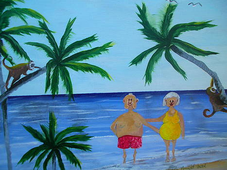 Bruton and Pearl In The Tropics by Linda Bright Toth