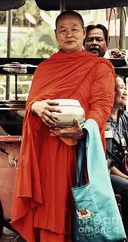 Buddhist Monk  by Bobby Mandal