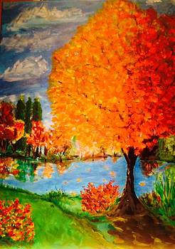 Burst of Autumn by Cindy Lawson-Kester