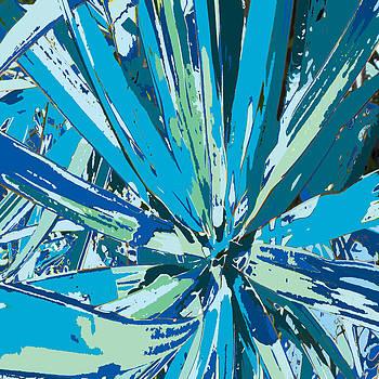 Bursting Bromeliad by Rosie Brown