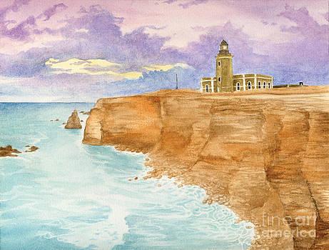 Cabo Rojo Lighthouse by Sara Alexander Munoz