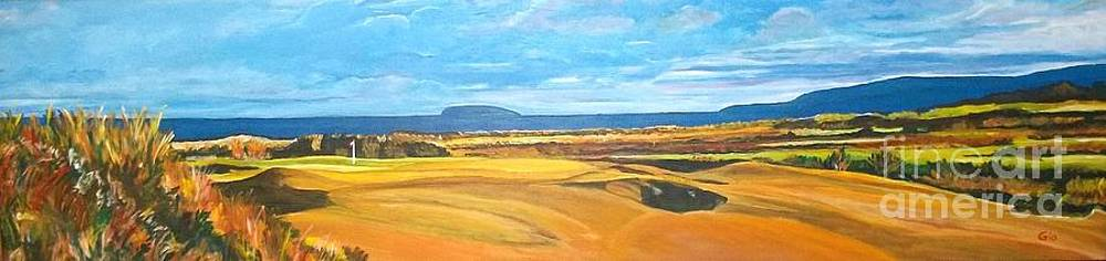 Cabot Links Hole 12 by Frank Giordano