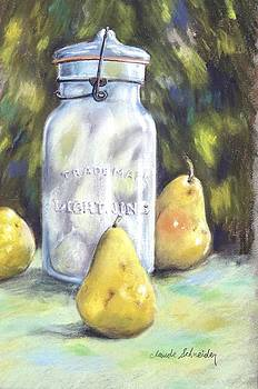 Canned Pears  by Claude Schneider