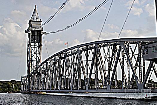 Cape Cod Canal Train Bridge by Spirit Baker