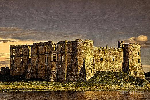 Steve Purnell - Carew Castle Sunset