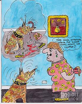 Cartoon by Alan Wilkinson