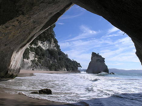 Cathedral Cove by Olaf Christian