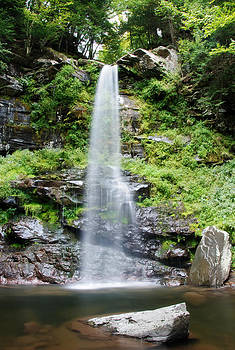 Catskills Waterfall by Julie VanDore