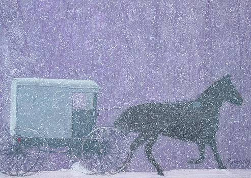 Caught in a Blizzard by Harvey Rogosin