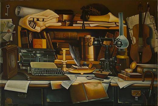 Chaim Nachman Bialik. by Eduard Gurevich