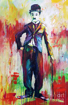 Charlie Chaplin by Marta Zawadzka