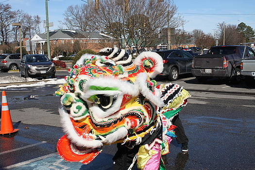 Chinese Lion Dance by James Lawson