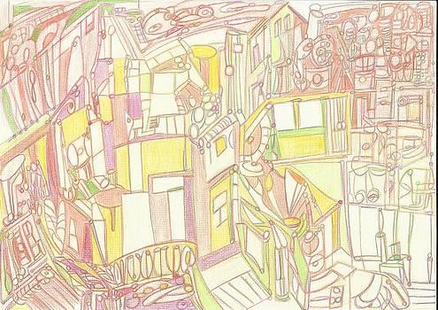 Cidade 10  by Marina De Bonis
