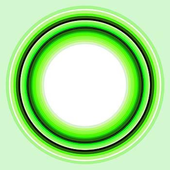 Circle Motif 145 by John F Metcalf