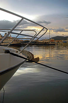 Nano Calvo - Cloudy Sunset At Sport Port Marina