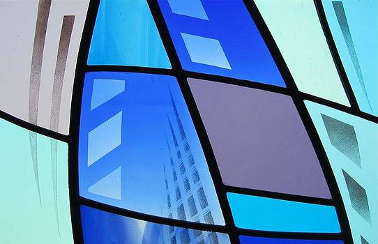 Coal Harbour Triptych Part 3 by Gilroy Stained Glass