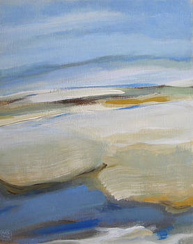 Coastline by Mary Brooking