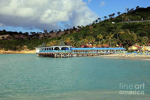 Sophie Vigneault - Colorful Pier in Antigua