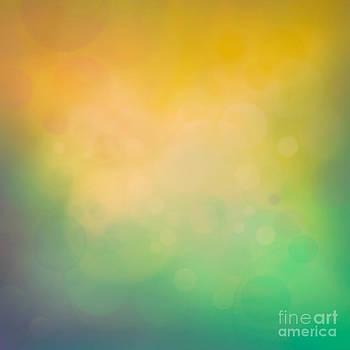 Mythja  Photography - Colorful yellow bokeh background
