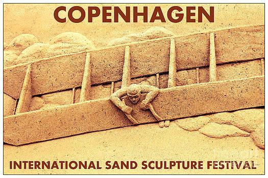 Sophie Vigneault - Copenhage sand Sculpture