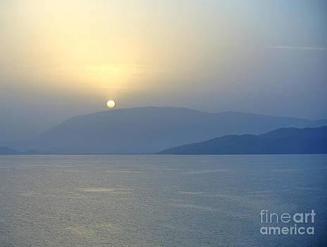Corfu Sunrise by Sarah Christian