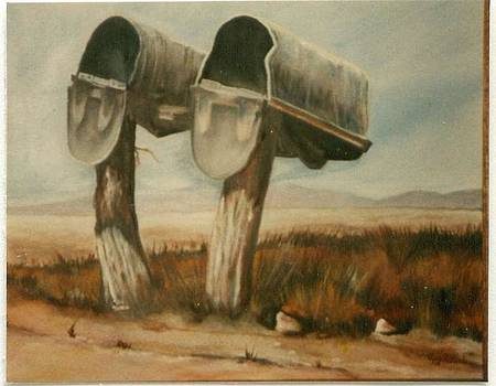 Country Mailboxes by Geri Jones